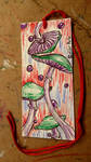 Mushroom Magic Illustrated Bookmark by SpiderMilkshake