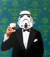Mr. W (green) by StencilScotch