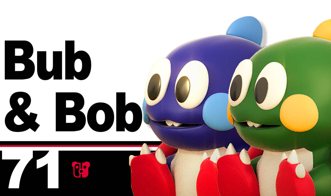Super Smash Bros. Ultimate Bub And Bob by PeterisBeter