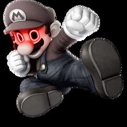 Super Smash Bros. Ultimate Mario Spirit by PeterisBeter