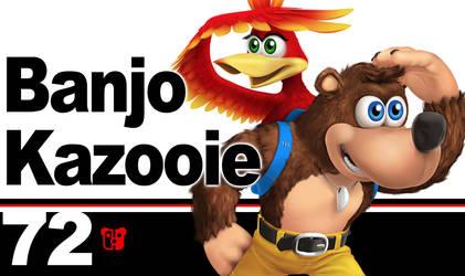 Super Smash Bros. Ultimate Banjo Kazooie by PeterisBeter