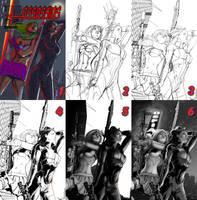 Cover Art Work Flow by popmhan