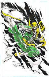 Iron Fist by popmhan