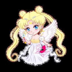 Princess Serenity Chibi by Cristal-Zhaduir