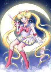 Super Sailor Moon by Cristal-Zhaduir