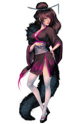 Riena Kimono by Megamanred
