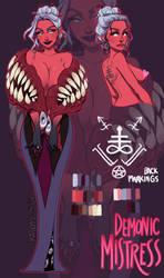 Demonic Mistress Cadence by Megamanred
