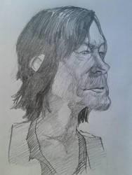 Daryl Dixon by marioferro