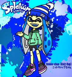Splatoon Drawing: Bobble-Chan (Manga Pose 1) by AceTimeRad