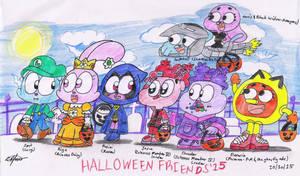 Halloween Friends'15 by murumokirby360
