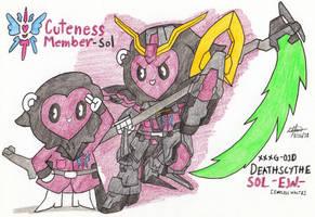 Cuteness Member - Sol by murumokirby360