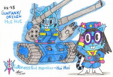 Cuteness Girl Member - Hui Hui by murumokirby360