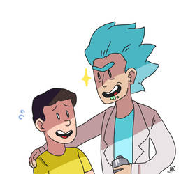 Let's do some science, Morty! by calcieum