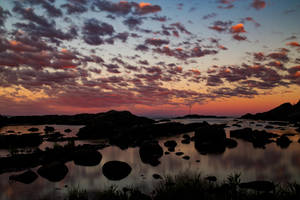 Langesund Sunset by ajonsaas