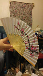 hand fan by quetzalgirl