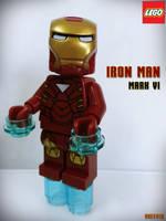 LEGO IRON MAN - MARK VI by areev19