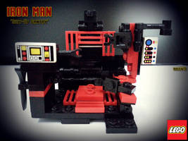 MOC 'Suit-Up Gantry' LEGO Iron Man by areev19