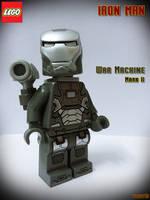 LEGO Iron Man War Machine Mark II by areev19