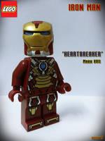 LEGO Iron Man Mark VII Heartbreaker by areev19