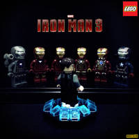 LEGO Iron Man 3 by areev19