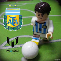 Lionel Messi by areev19