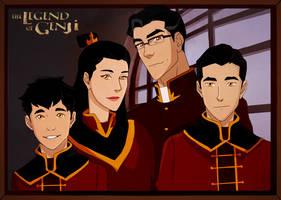 Mako's Family by freestyletrue