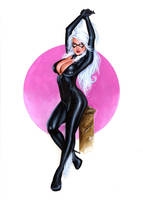 BLACK CAT Bw004 by AlexMirandaArt