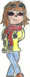 Zaria Fulkh Xavier student X-men OC by TheDarkNeon