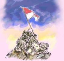 Bendera Tanah Air by bensonput