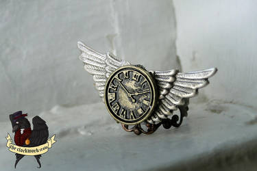 New Steampunk Ring by HouseOfAlletz