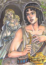 Classic Mythology II - Orpheus and Eurydice by temiel