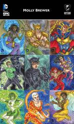Cryptozoic Entertainment Preview: DC Epic Battles by temiel