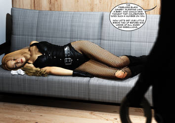 Black Canary - Sweet Dreams by fightgirl2004