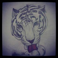 The Tiger by SoBeautyAndBeat