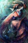 Character Design Challenge -SamuraiAndGeisha by NerezaWorks
