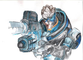 garrus vakarian by hytil