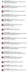 Bad fanfiction (tweet) by Prue84
