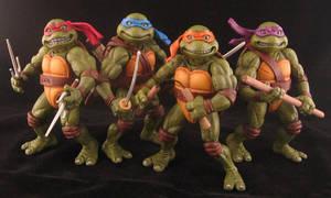 Teenage Mutant Ninja Turtles 'the Movie' by plasticplayhouse