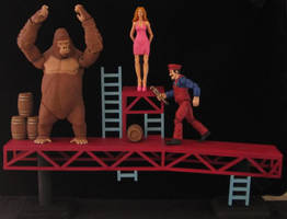 Donkey Kong by plasticplayhouse