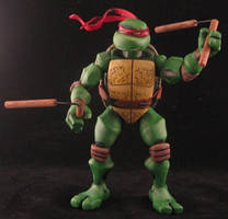Michelangelo - Jim Lawson style TMNT by plasticplayhouse