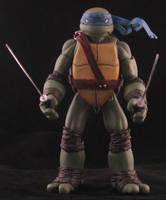 Leonardo - Ross Campbell style TMNT by plasticplayhouse