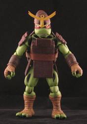 Turtles in Time Samurai Raph by plasticplayhouse