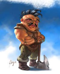 barbarian by Callibanda