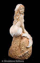Pearl Tea mermaid by Reptangle