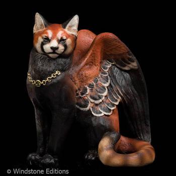 Red panda cat by Reptangle