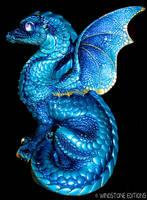 Blue dragon by Reptangle