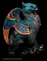 Occellated turkey griffin by Reptangle