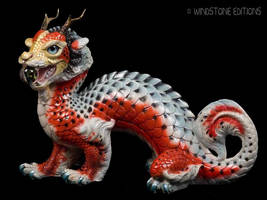 Asagi Koi Oriental Sun Dragon by Reptangle