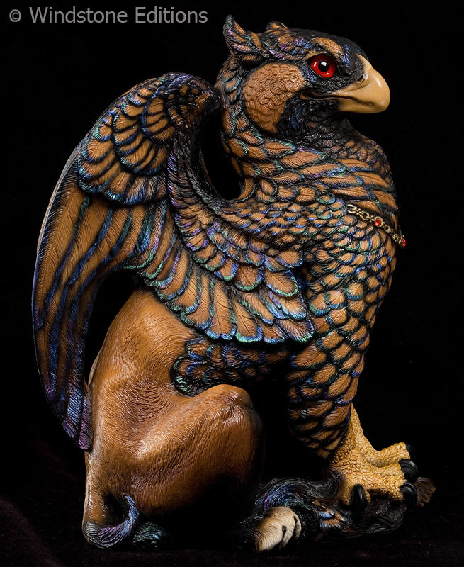 Gold Lace Sebright griffin by Reptangle