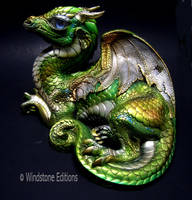 Elvish dragon by Reptangle